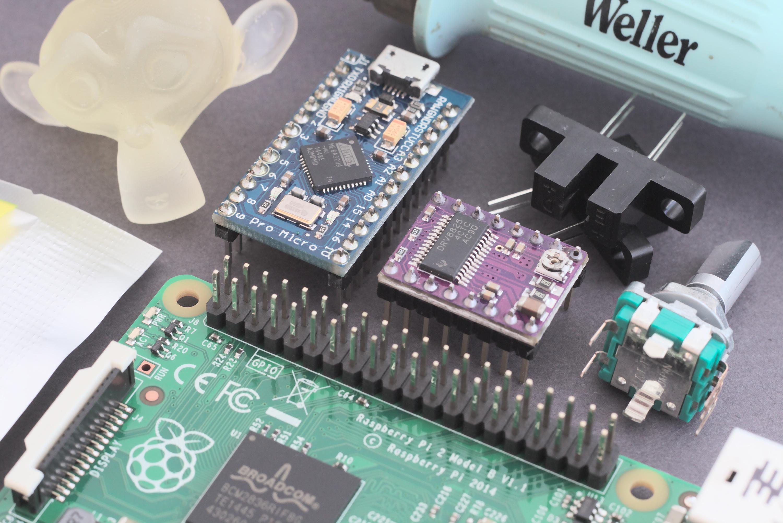 Build log part one: DLP 3d printer electronics