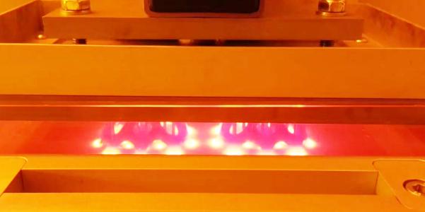 Box fish mass production: DLP printer video