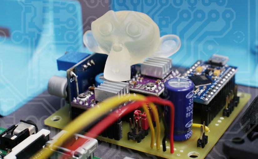 Monkeyprint DLP control board PCB